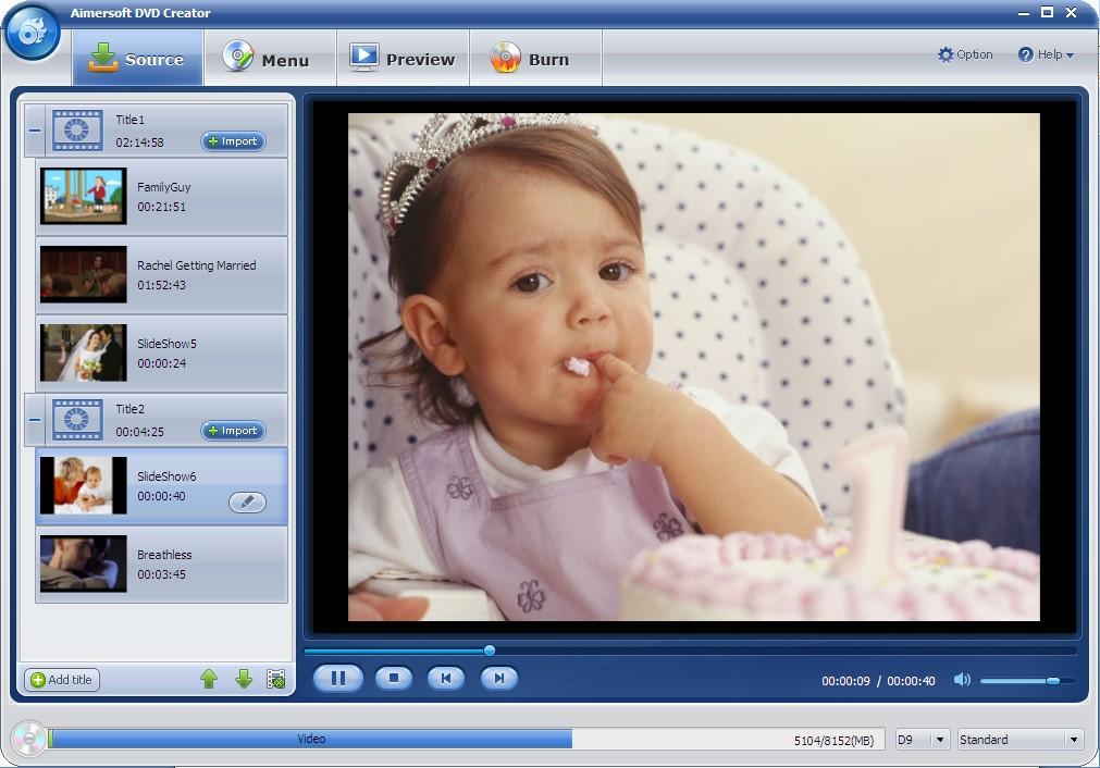 Aimersoft DVD Creator 2.6.5