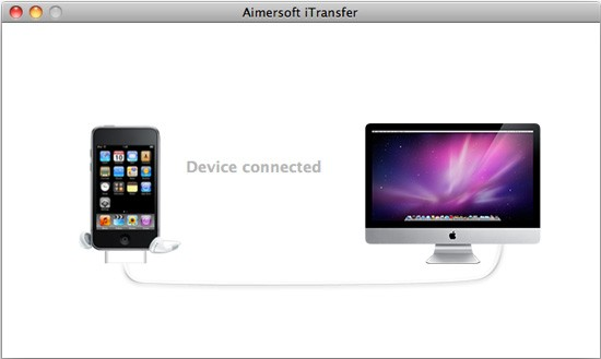 Aimersoft iTransfer for Mac Screenshot
