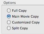 aimersoft mac dvd backup mode