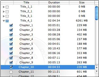 aimersoft mac dvd backup title