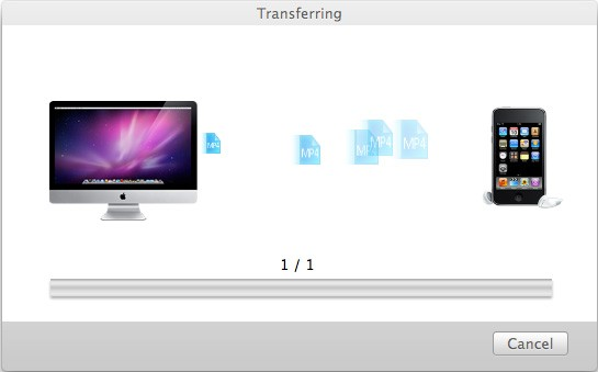 aimersoft mac itransfer transfer