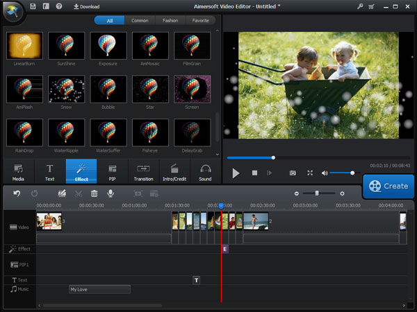 Editing Effects For Videos Edit Merged Video File