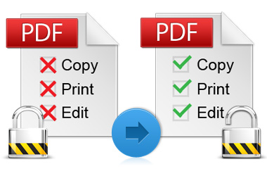 Get rid of copying and printing restriction
