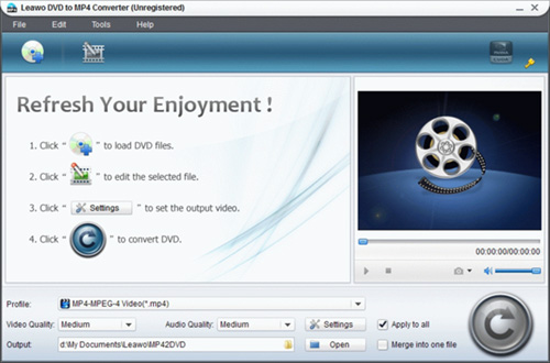 software convert dvd to mp4
