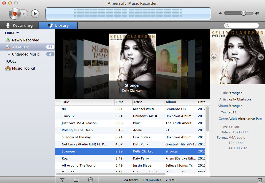 record music on macos sierra