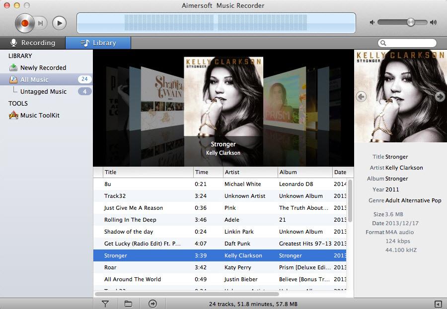 Auto-identify music info