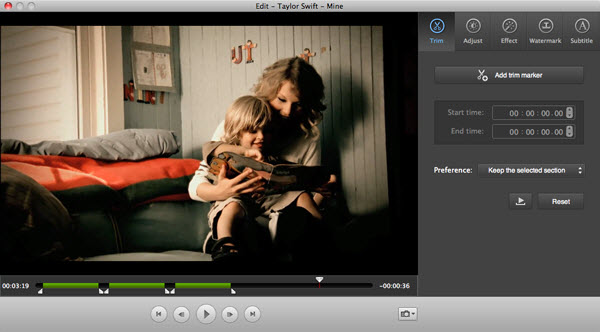edit video on mac