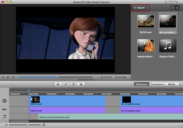 add audio to video on mac