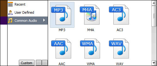 aimersoft music converter output