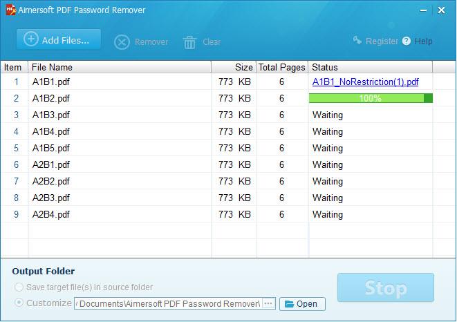 unlock pdf password