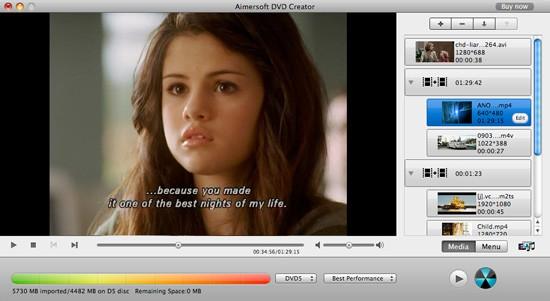 convert x to dvd mac