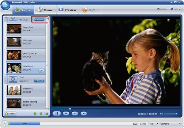 burn Panasonic video to DVD