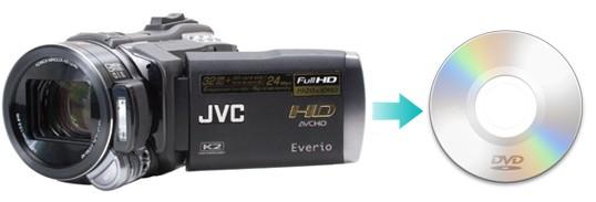 convert JVC to DVD