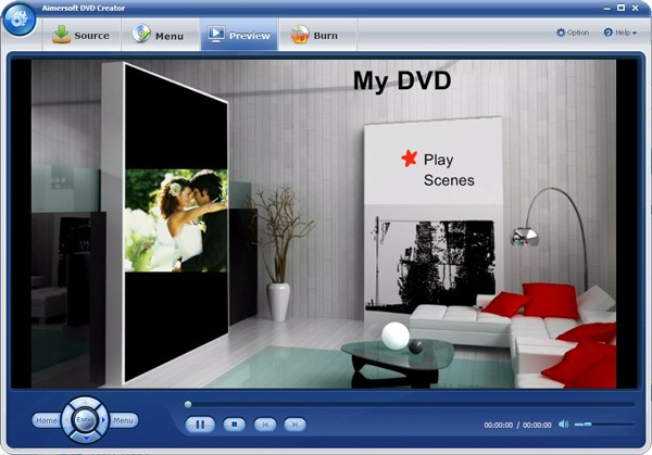 convert Samsung video to DVD