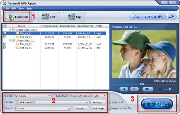 using dvd decrypter
