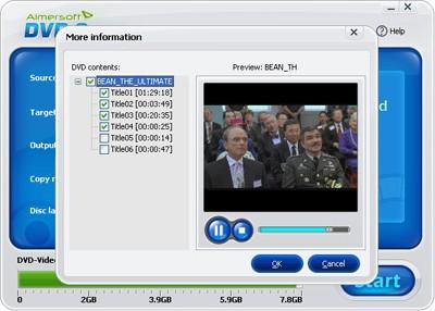 DVD information