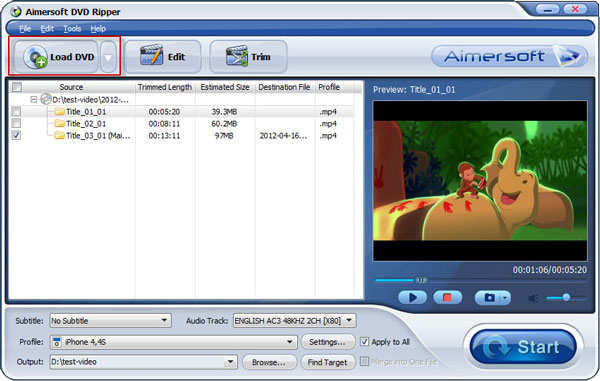 DVD to Mobile Converter