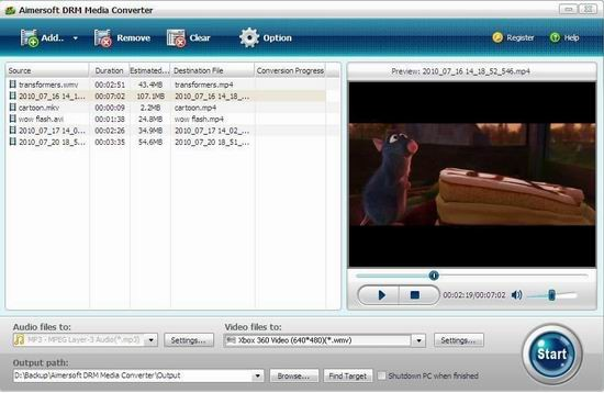 iTunes Protected Music Movie to Xbox 360