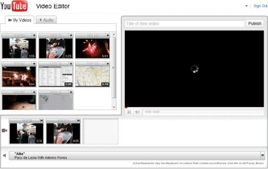 Edit YouTube video