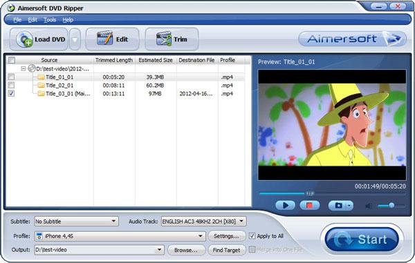 DVD to VOB Converter