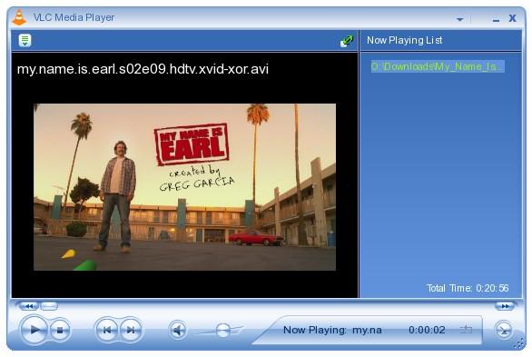 VLC MP4 player fullscreen