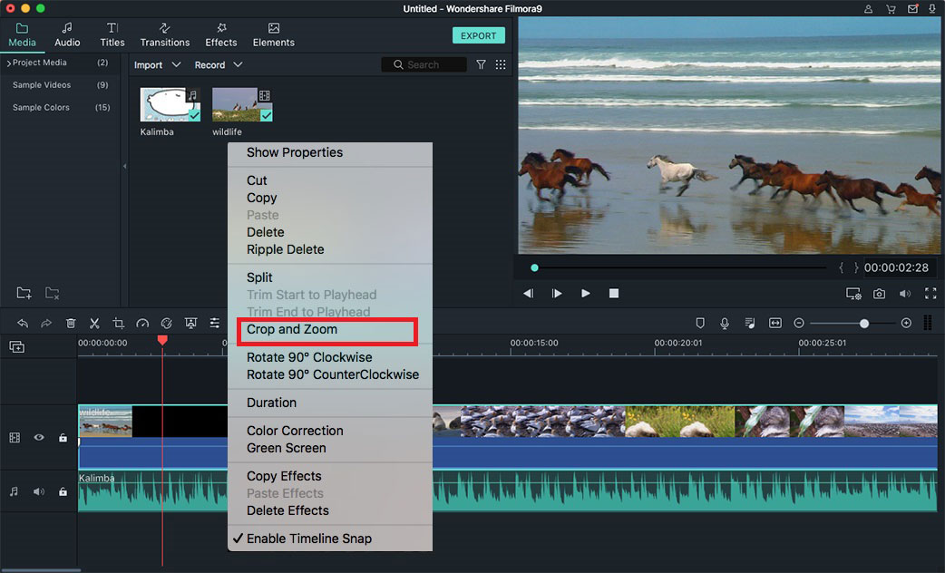 cropping video mac