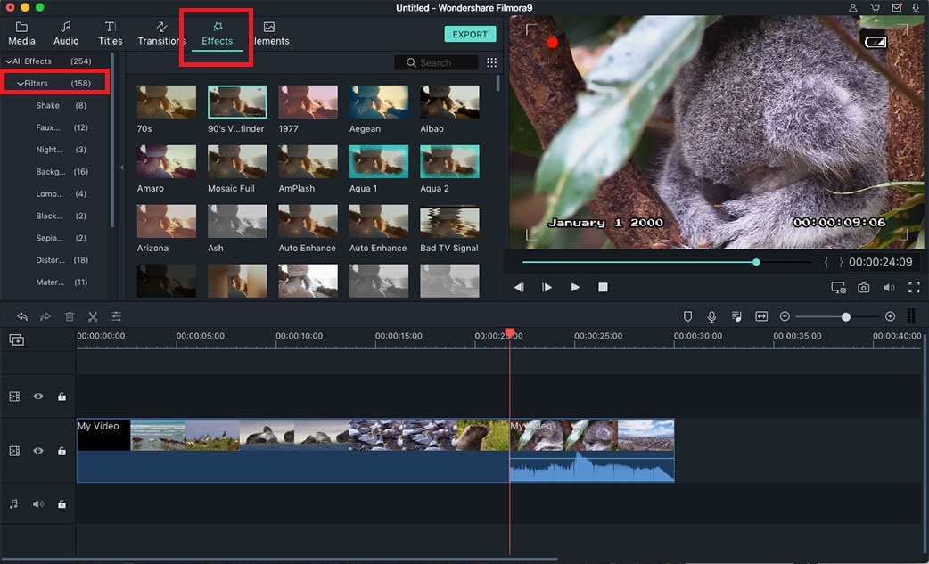 Video Editor for Mac 10.9