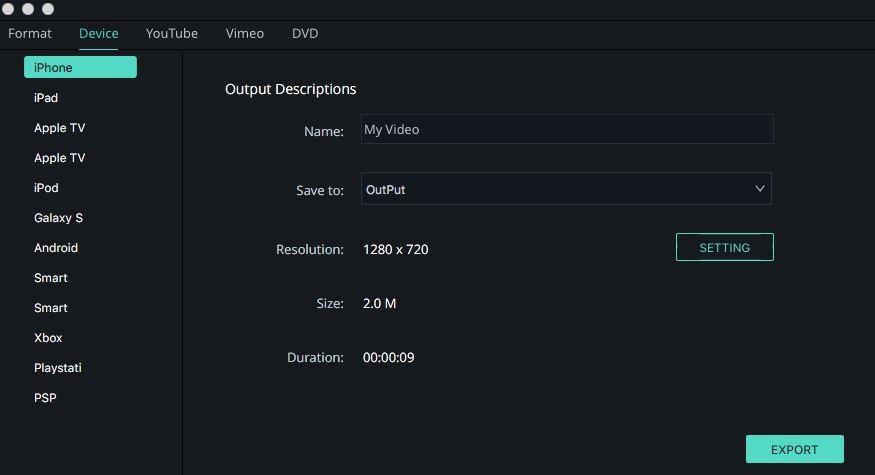 compress iphone video mac