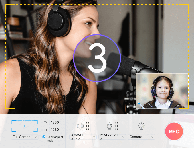 record videos easily and quickly