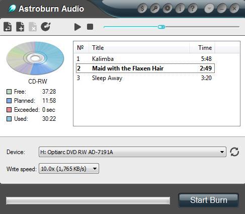 Astroburn Audio