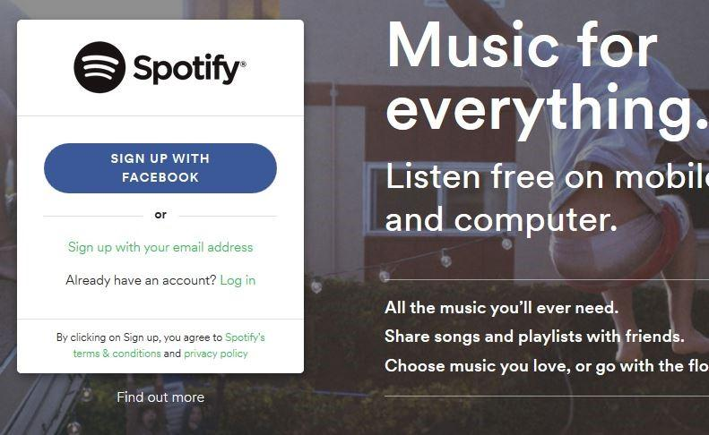 Tips for beginner spotify username,spotify password-Sign up by email