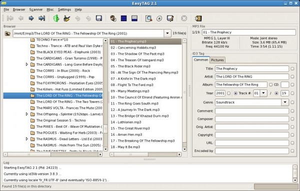 Best mp3 tagger For Windows/OS X/Linux