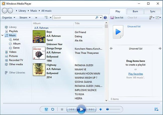 windows media player burn cd