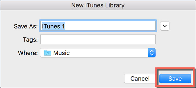 Switch libraries in itunes