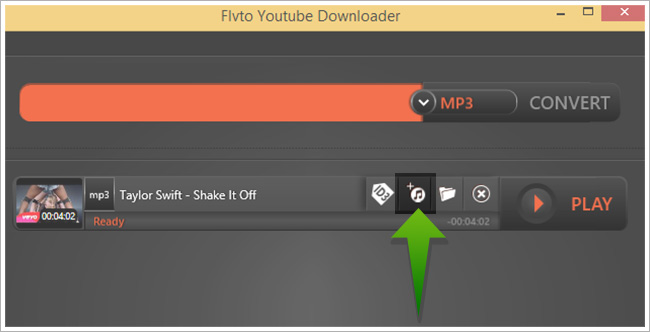 "Download and convert Youtube videos to iTunes-press the special button ""Add to iTunes"""