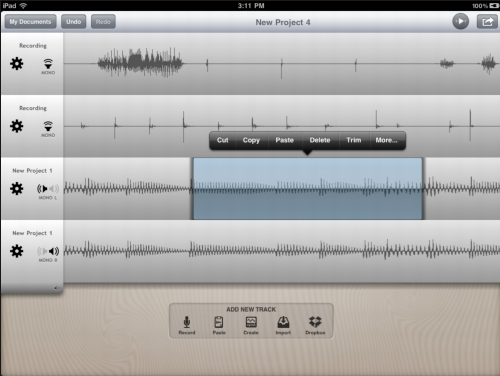 audacity for ipad