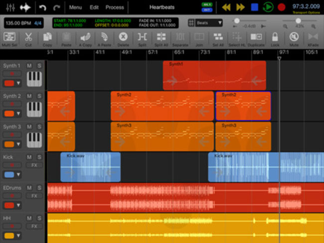 ipad music production