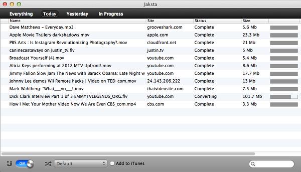 Jaksta Media Recorder for Mac