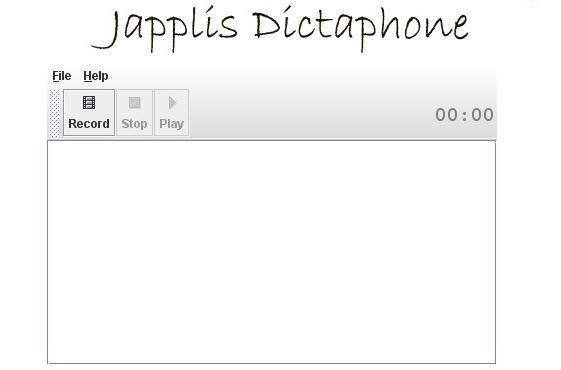 Japplis Dictaphone