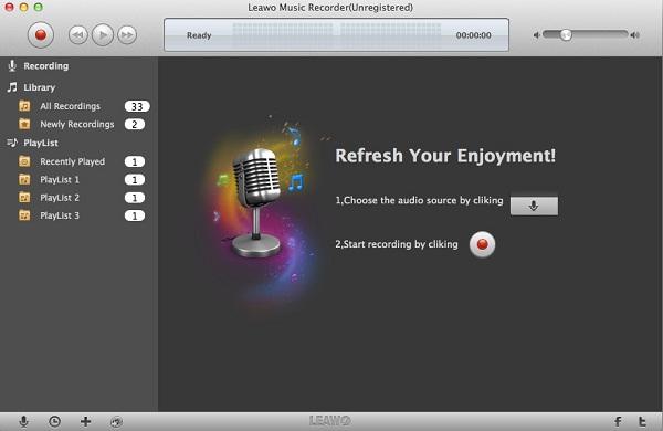 Leawo Music Recorder for Mac