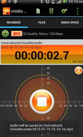 spotify recorder android