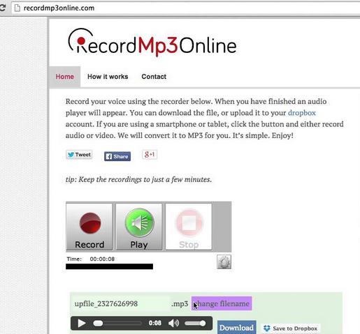 RecordMP3Online