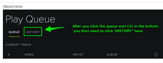 Tips you should know about Spotify history-the history load and listen to songs