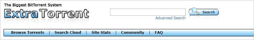 Free Music Torrent Sites - Extra Torrent