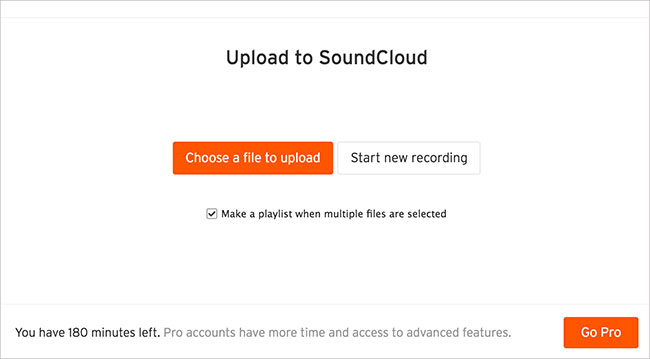 how to upload songs to soundcloud