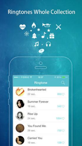 best music downloader for iphone-Ringtones Free Pro