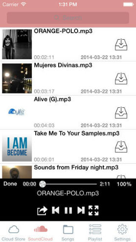 best music downloader for iphone-Media Cloud Free
