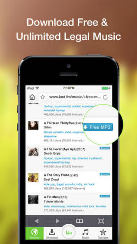 Free Music Download Apps for iPhone/iPad/iPod/Android-Music Downloader