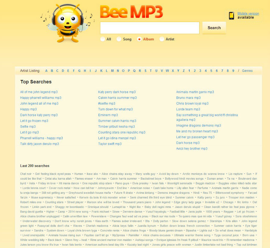free mp3 music download sites beeMP3