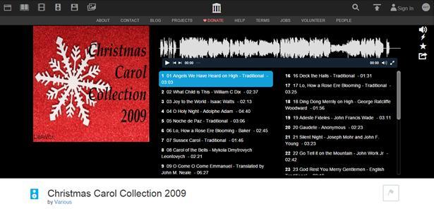 Christmas Carol Collection 2009